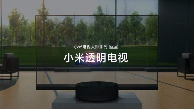 """近距离看小米透明电视是如何实现""""透明""""的"""